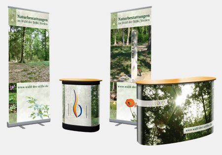 "Messestand ""Wald der Stille"""